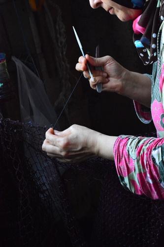 Rumeli Feneri'nin ağ ören kadınları 10