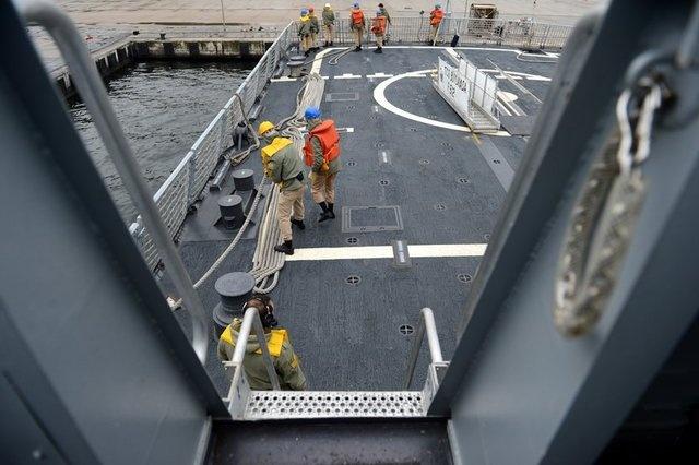 TCG Büyükada Türk donanmasının gücünü yansıtıyor 12