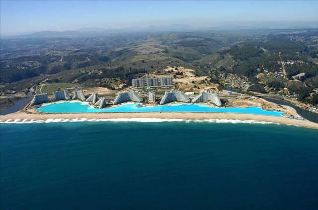 İşte dünyanın en büyük havuzu 10