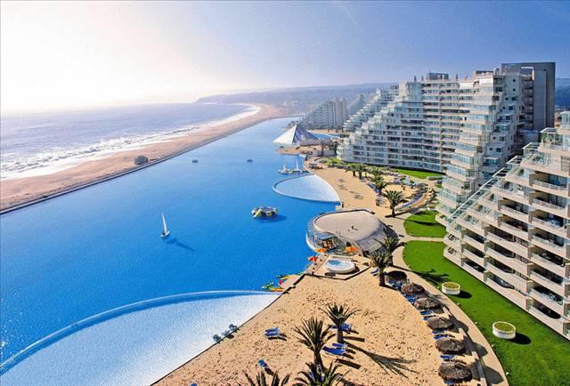 İşte dünyanın en büyük havuzu 11