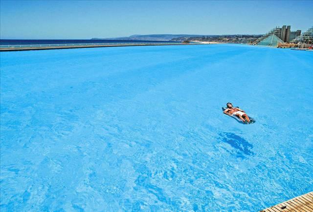 İşte dünyanın en büyük havuzu 12