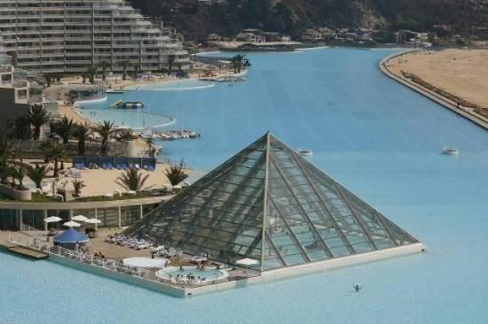 İşte dünyanın en büyük havuzu 5