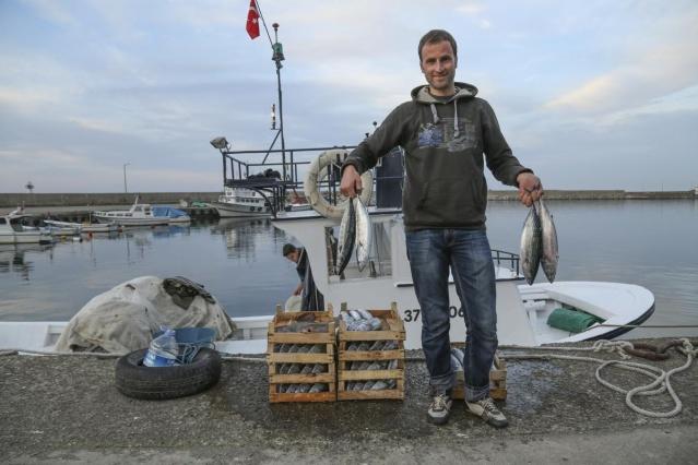 Palamutlar göç yolunda, balıkçılar tetikte 2