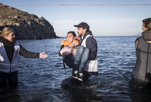 Karaya ulaşan sığınmacıların mutlu sonu 10