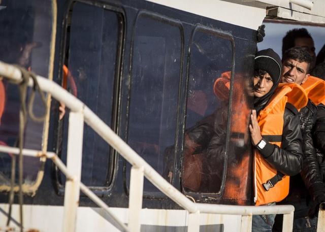 Karaya ulaşan sığınmacıların mutlu sonu 2