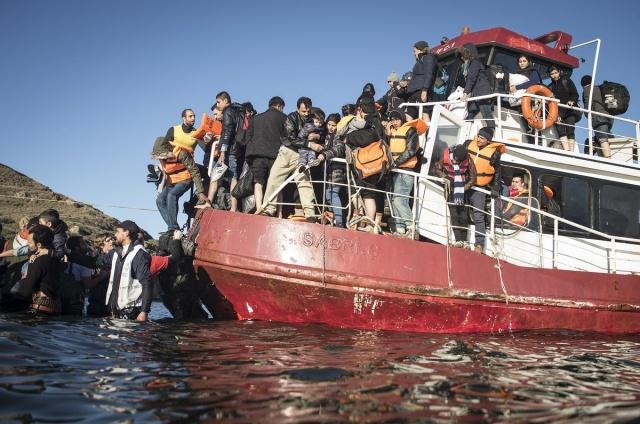 Karaya ulaşan sığınmacıların mutlu sonu 3