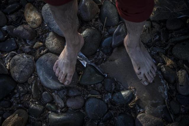 Karaya ulaşan sığınmacıların mutlu sonu 40