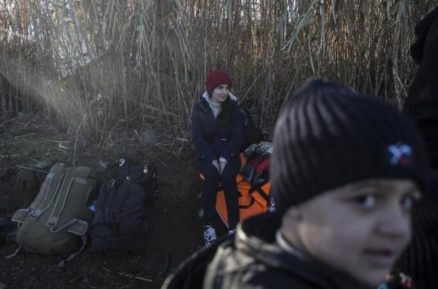 Karaya ulaşan sığınmacıların mutlu sonu 43