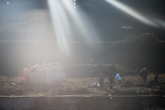 Karaya ulaşan sığınmacıların mutlu sonu 45