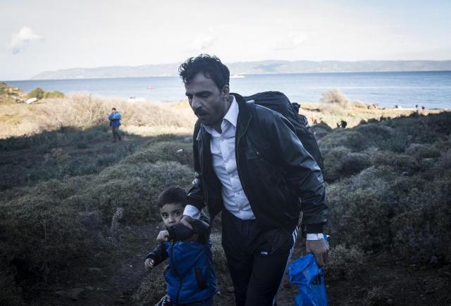 Karaya ulaşan sığınmacıların mutlu sonu 47