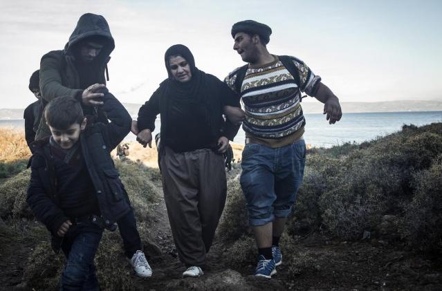 Karaya ulaşan sığınmacıların mutlu sonu 49