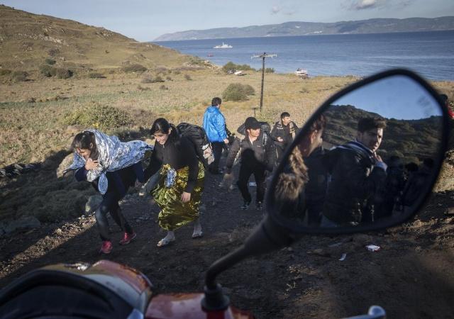 Karaya ulaşan sığınmacıların mutlu sonu 50