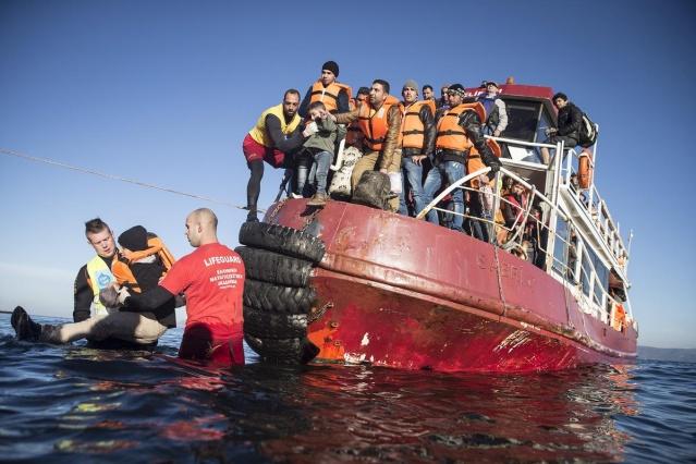 Karaya ulaşan sığınmacıların mutlu sonu 7
