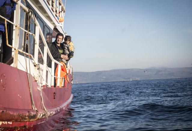 Karaya ulaşan sığınmacıların mutlu sonu 9