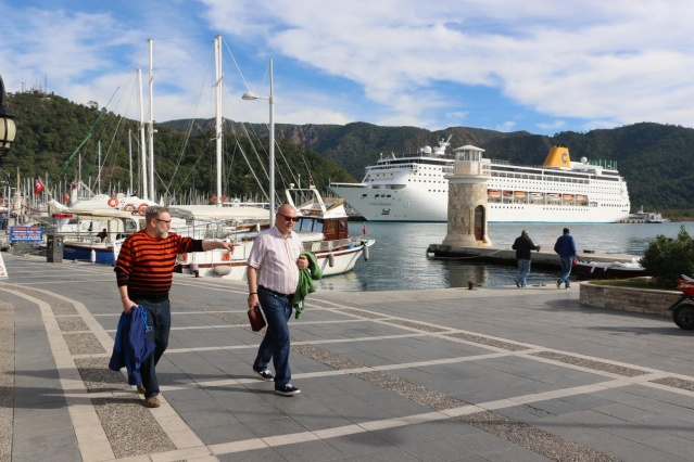 "Dev kruvaziyer ""Costa Riviera"" Marmaris'te 5"