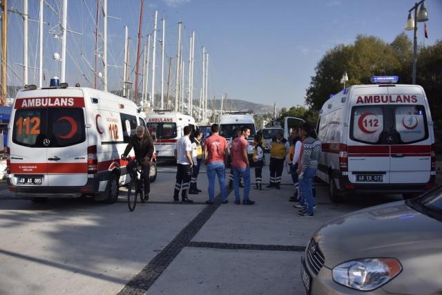 Mülteci teknesi battı: 4 ölü 8