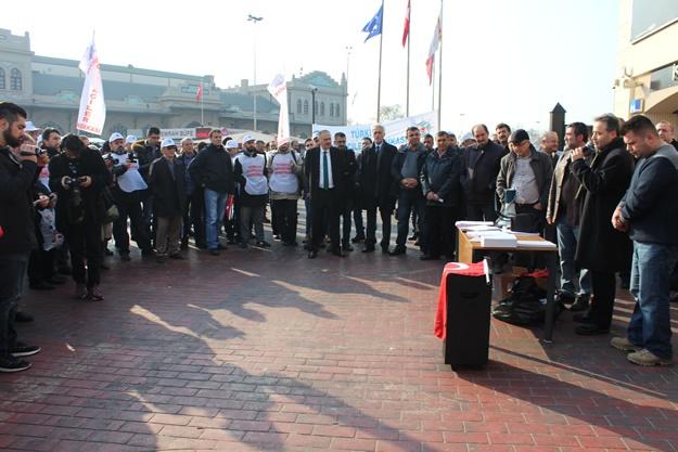 Türkiye Denizciler Sendikası basın açıklaması 10