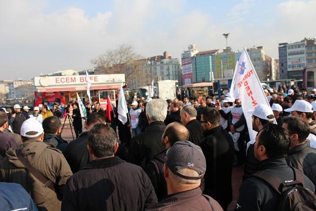 Türkiye Denizciler Sendikası basın açıklaması 12
