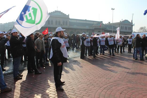 Türkiye Denizciler Sendikası basın açıklaması 3