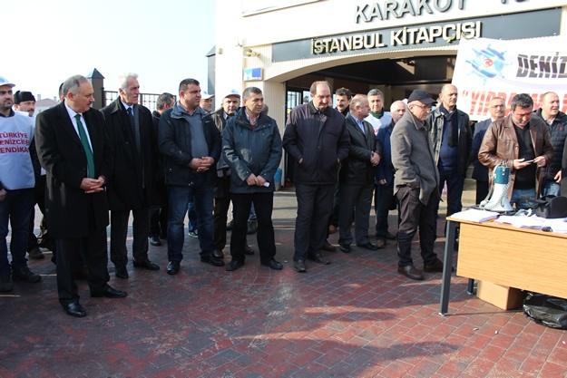 Türkiye Denizciler Sendikası basın açıklaması 7