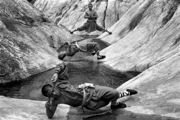Shaolin rahiplerinin sıra dışı antrenmanı 6