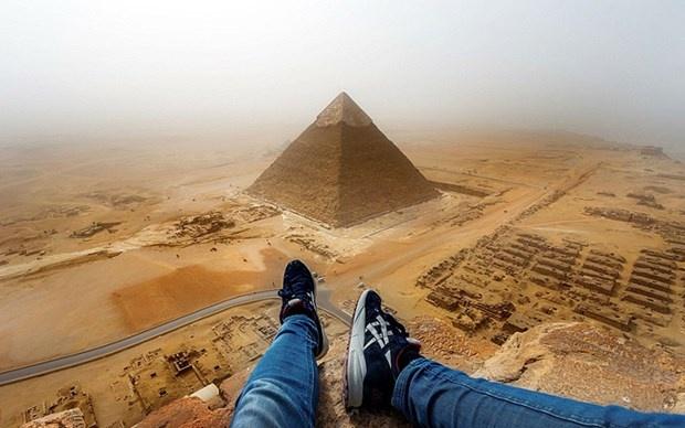 Yasak olan piramitlere tırmanınca... 3