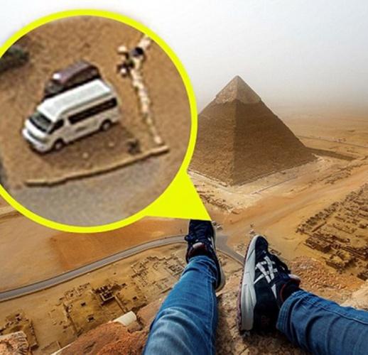 Yasak olan piramitlere tırmanınca... 6