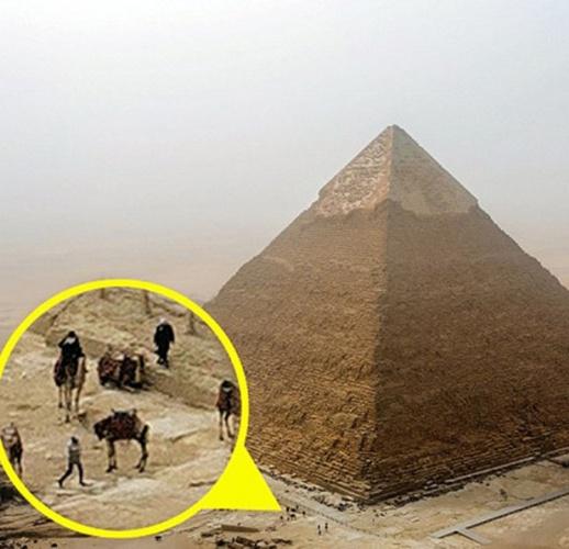 Yasak olan piramitlere tırmanınca... 7
