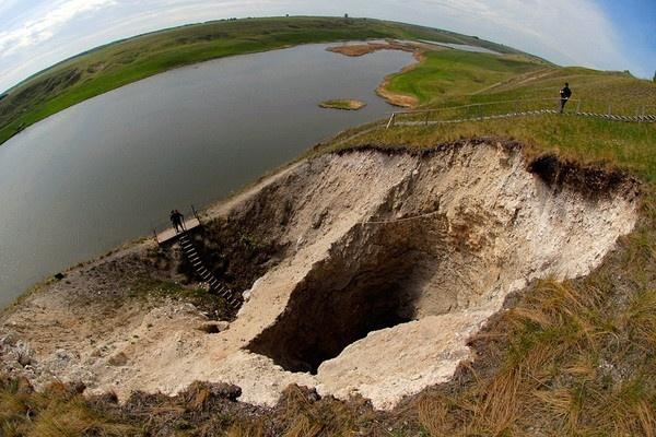 Rusya'daki o gölün büyüleyici fotoğrafları 1