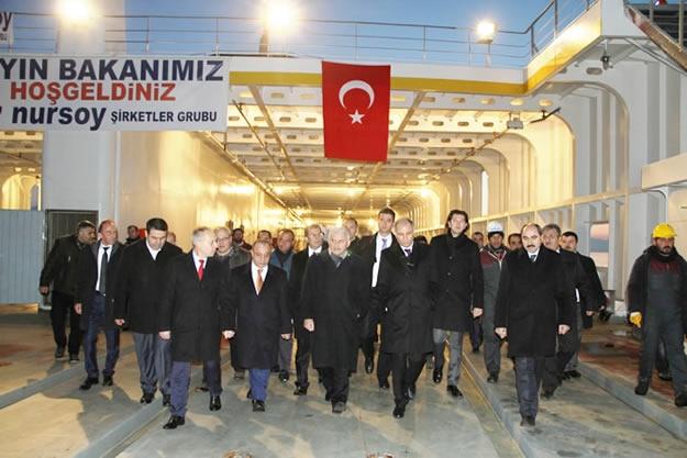 Türkiye'nin en büyük feribotu hizmete alındı 1