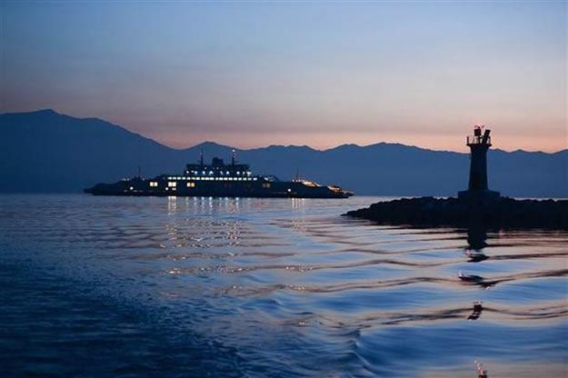 Türkiye'nin en büyük feribotu hizmete alındı 4