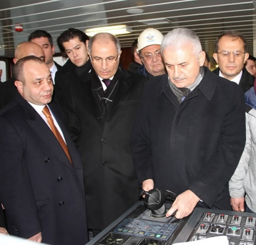 Türkiye'nin en büyük feribotu hizmete alındı 5