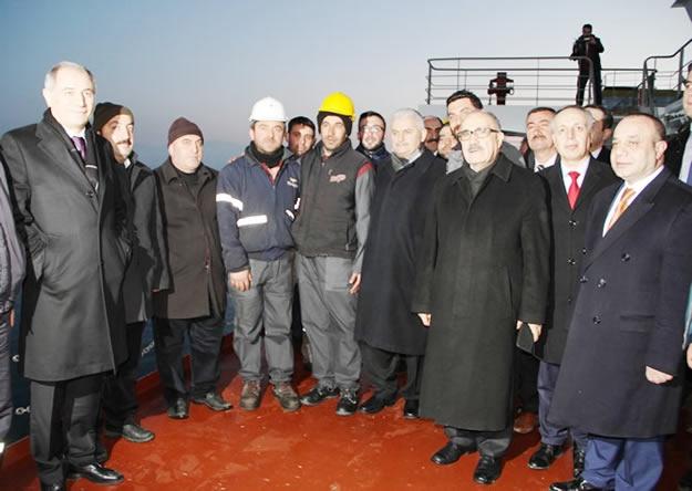 Türkiye'nin en büyük feribotu hizmete alındı 6