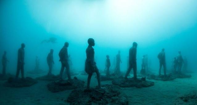 Dünyanın en anlamlı su altı müzesi mültecileri anlatıyor 12