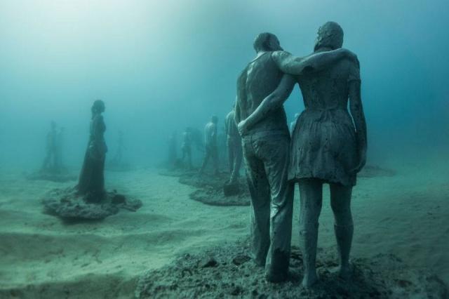 Dünyanın en anlamlı su altı müzesi mültecileri anlatıyor 14