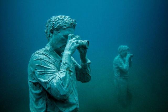 Dünyanın en anlamlı su altı müzesi mültecileri anlatıyor 15