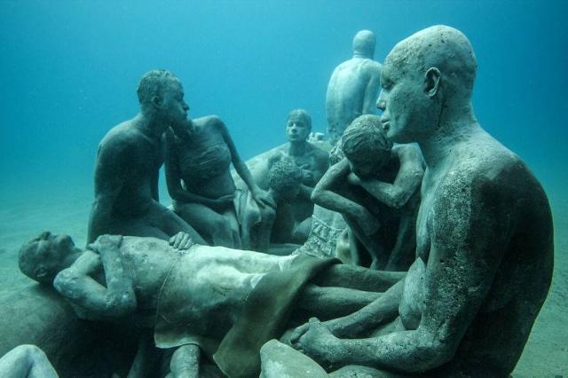 Dünyanın en anlamlı su altı müzesi mültecileri anlatıyor 5