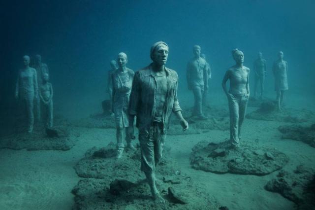 Dünyanın en anlamlı su altı müzesi mültecileri anlatıyor 6