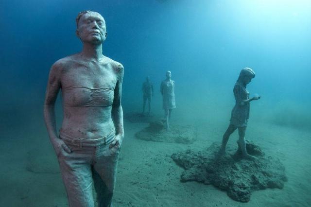Dünyanın en anlamlı su altı müzesi mültecileri anlatıyor 9