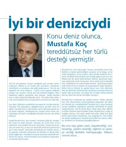 Mavi gözlü denizci Mustafa Koç, VİRA sayfalarına kazındı 10