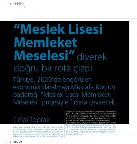Mavi gözlü denizci Mustafa Koç, VİRA sayfalarına kazındı 11