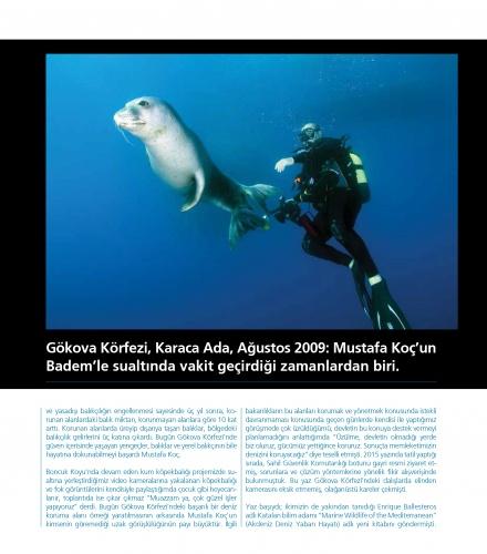 Mavi gözlü denizci Mustafa Koç, VİRA sayfalarına kazındı 6