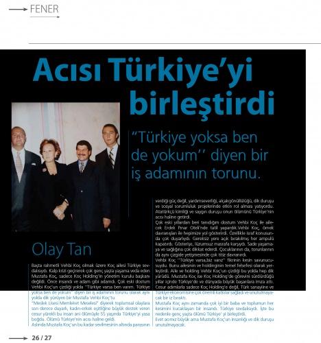 Mavi gözlü denizci Mustafa Koç, VİRA sayfalarına kazındı 9