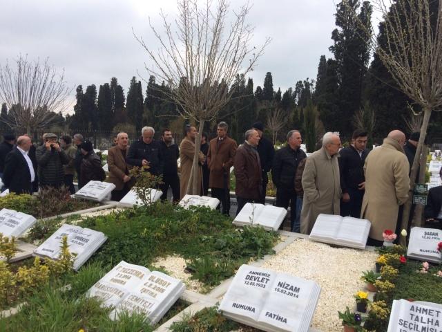 Şadan Kalkavan mezarı başında anıldı 5