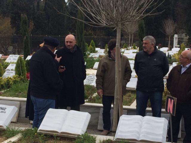 Şadan Kalkavan mezarı başında anıldı 6