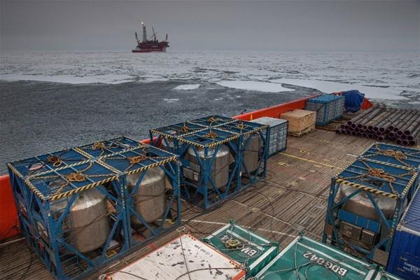 O petrol platformu ilk kez görüntülendi 17