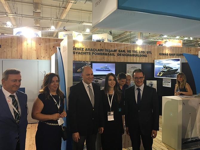 Atina Büyükelçisi, Posidonia 2016 Fuarı'nı ziyaret etti 3