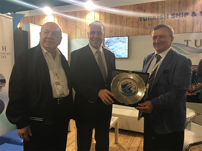 Atina Büyükelçisi, Posidonia 2016 Fuarı'nı ziyaret etti 4