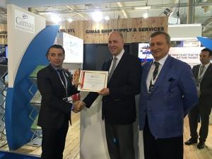 Atina Büyükelçisi, Posidonia 2016 Fuarı'nı ziyaret etti