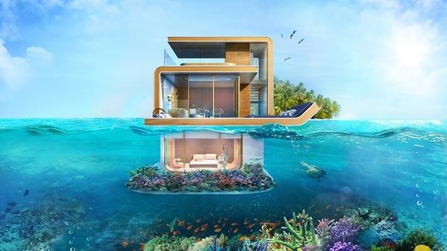 Dünyanın ilk yüzen evi 2
